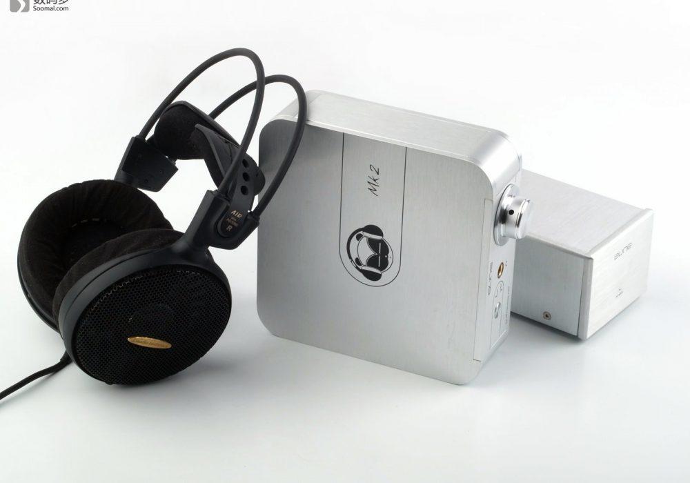 Aune S2 Headphone AMP 熊猫 MKII 耳机放大器-铁三角AD1000耳机对比