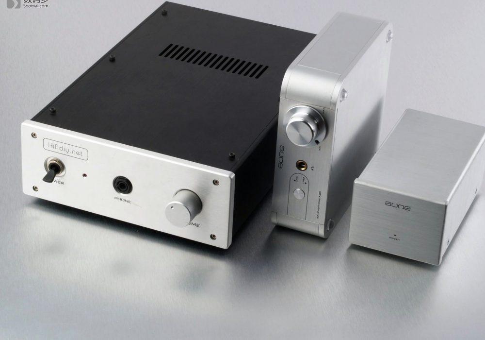 Aune S2 Headphone AMP 熊猫 MKII 耳机放大器-对比老款熊猫耳放
