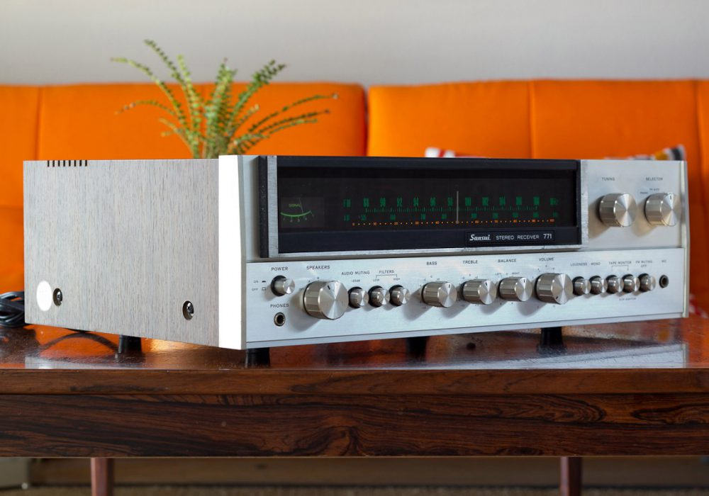 山水 SANSUI 771 收音机