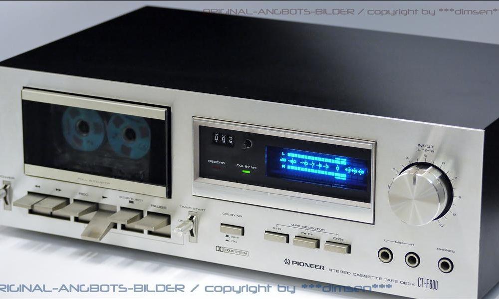 先锋 PIONEER CT-F600 立体声卡座