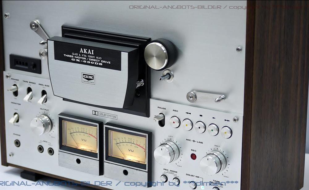 雅佳 AKAI GX-630DB 开盘机
