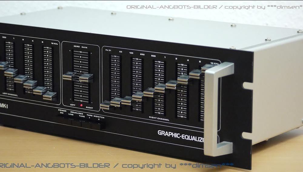 AEC SCM-MKI 专业级图形均衡器