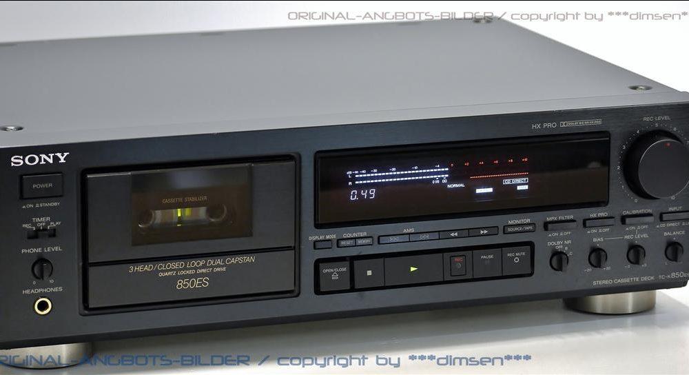 索尼 SONY TC-K850ES 高级三磁头卡座