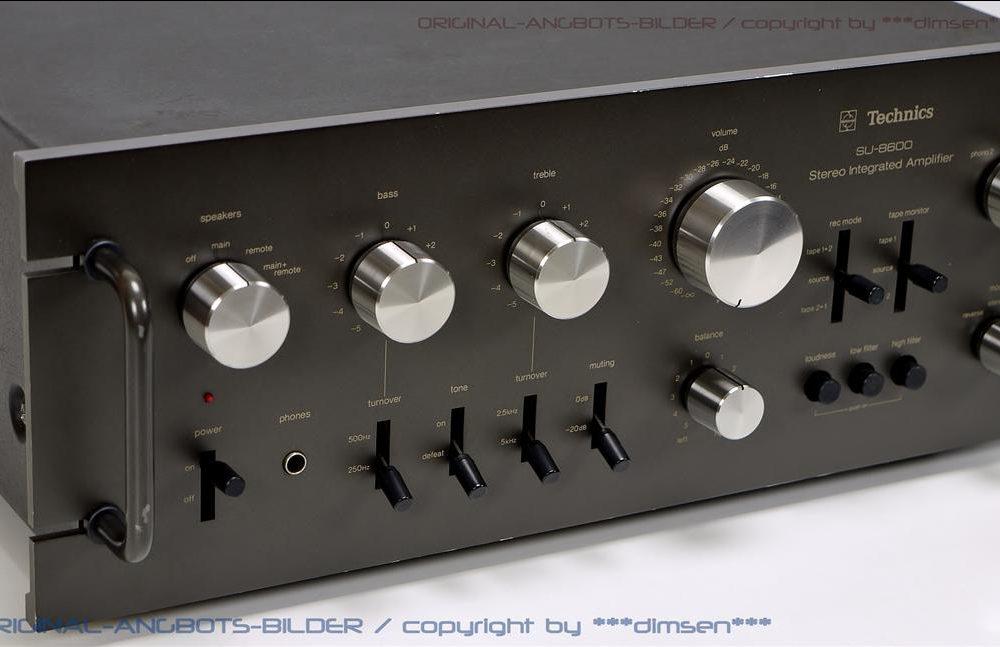 松下 Technics SU-8600 功率放大器