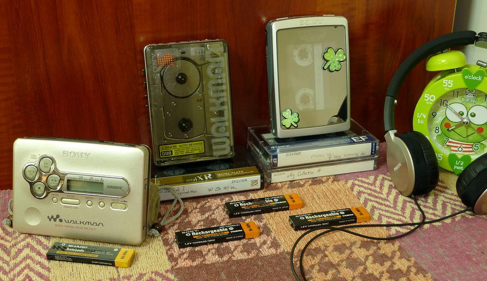 索尼 SONY WM-504、WM-EX5、WM-FX675 磁带随身听