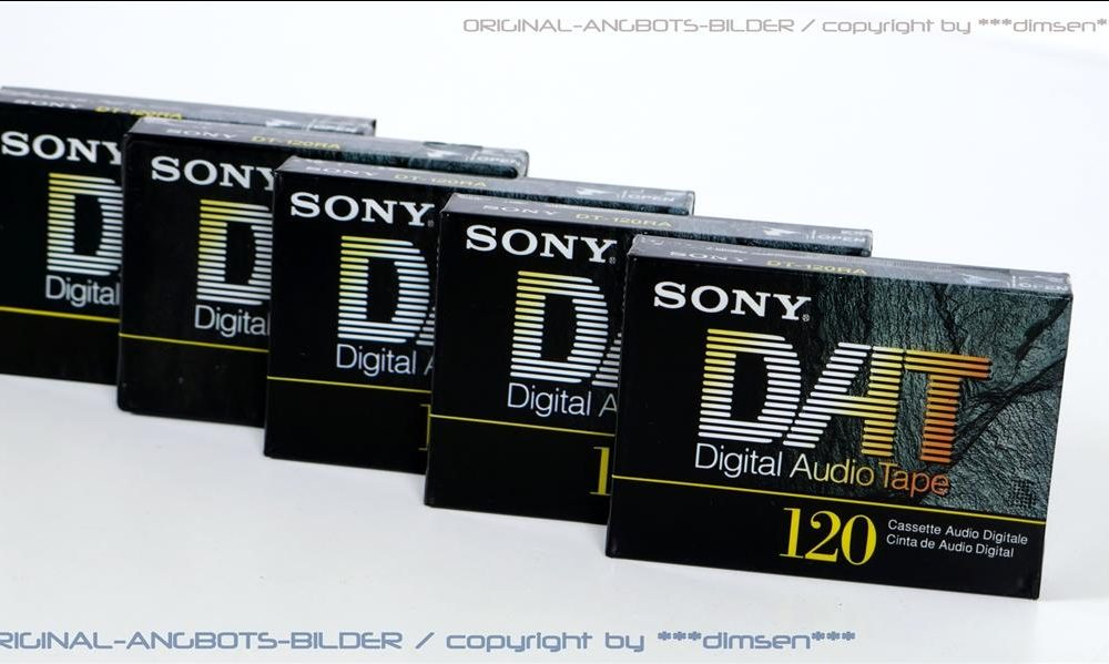 索尼 SONY DT-120RA DAT磁带