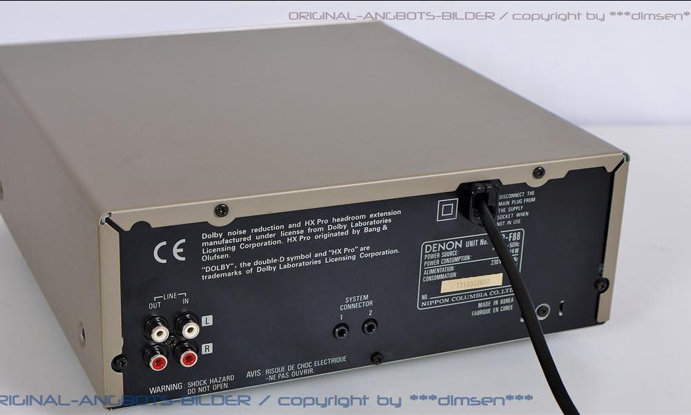 天龙 DENON UDRA-F07 磁带卡座