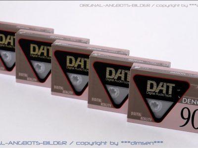 天龙 DENON R-90DT DAT磁带