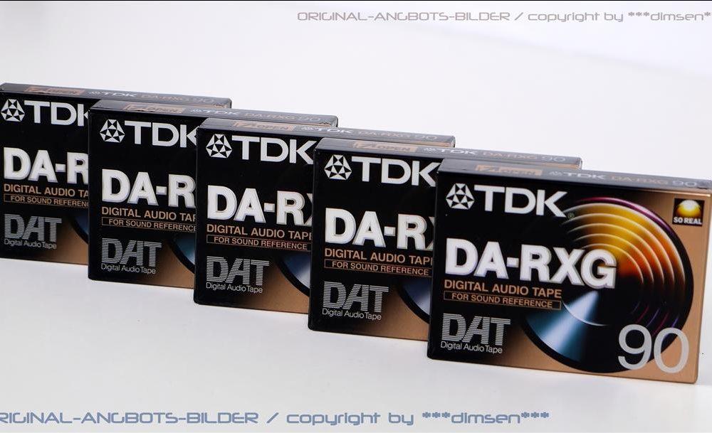 TDK DA-RXG DAT磁带