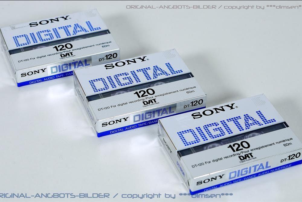 索尼 SONY DT-120 DAT磁带