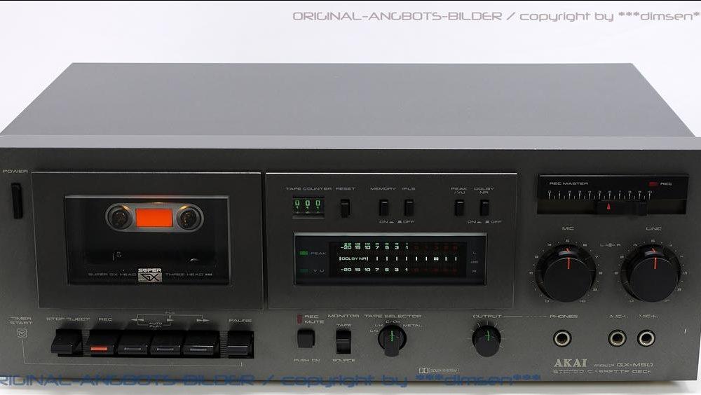 雅佳 AKAI GX-M50 卡座