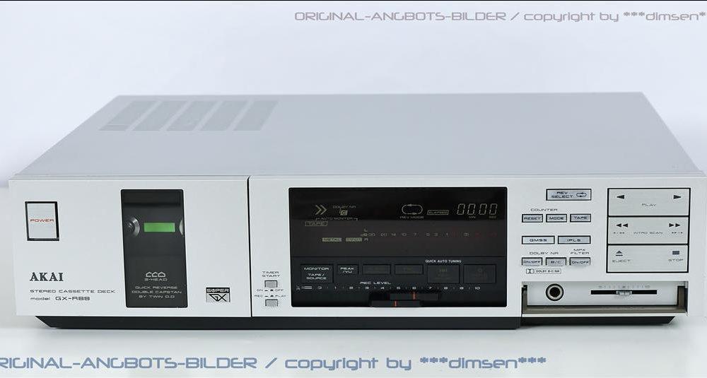 雅佳 AKAI GX-R88 三磁头卡座