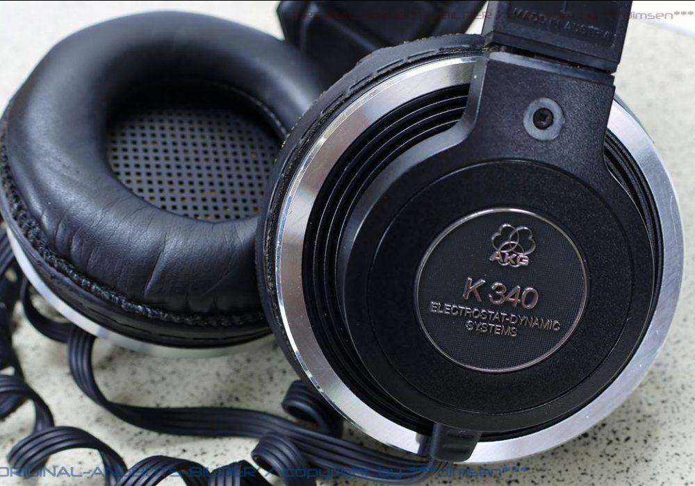 AKG K340 头戴耳机