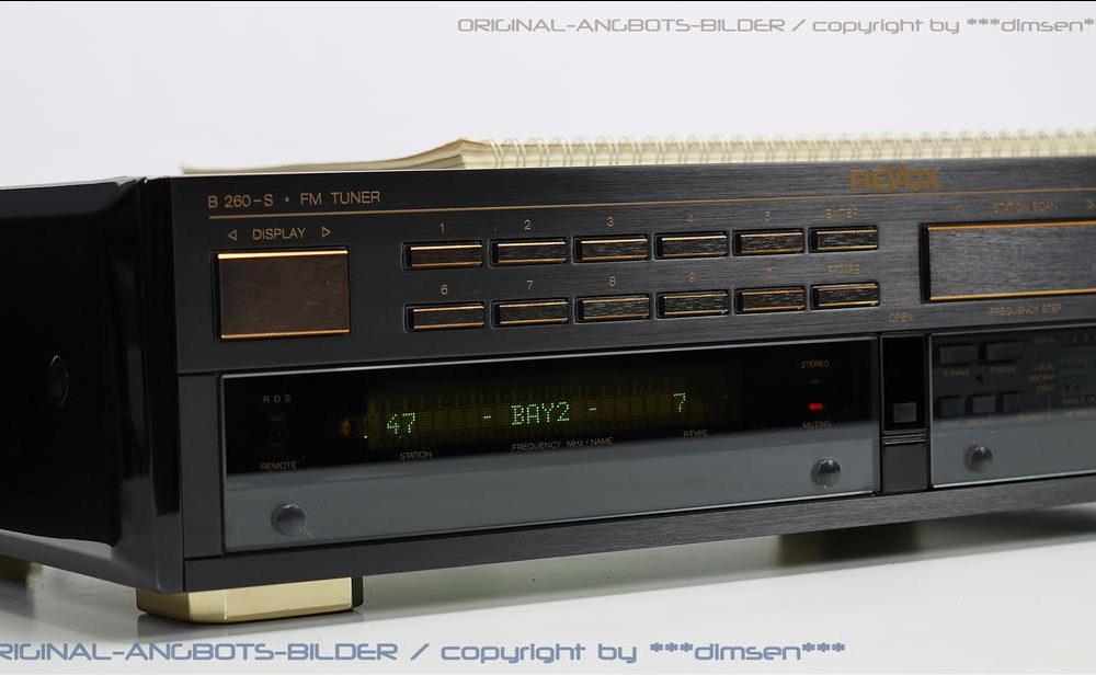 REVOX B260S 高级FM收音头