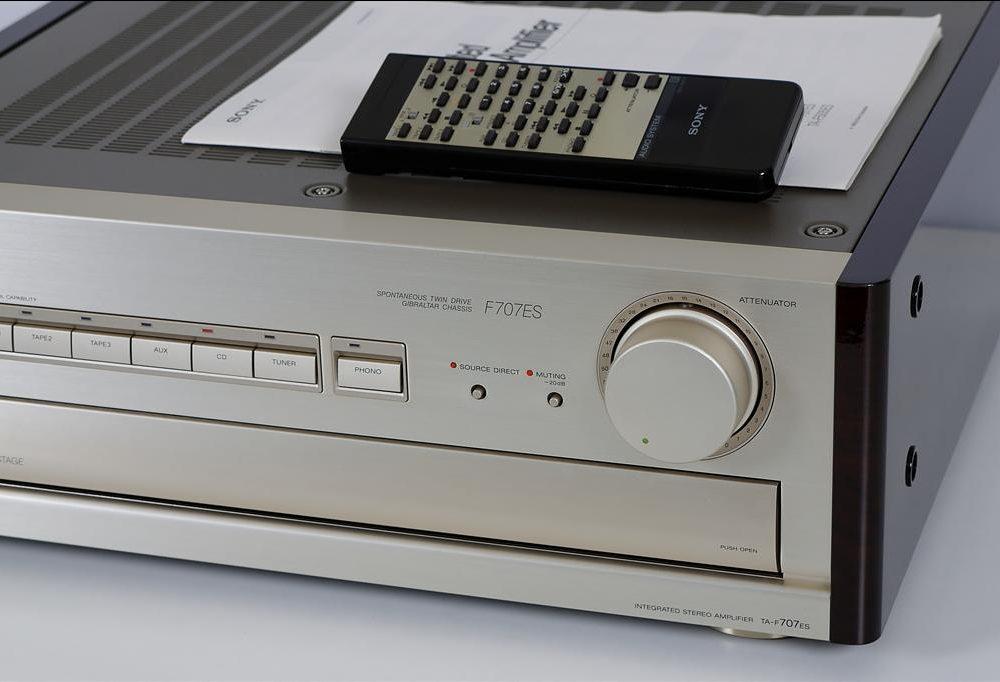 索尼 SONY TA-F707ES 功率放大器