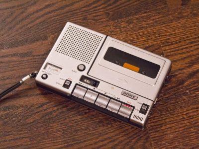 SONY TC-150 Cassette Tape Recorder 01