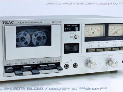 TEAC A-303 古典双表头卡座