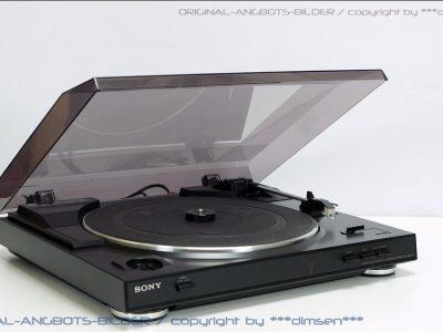 索尼 SONY PS-LX250H 黑胶唱机