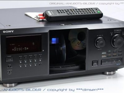 索尼 SONY CDP-CX355 300碟CD播放机