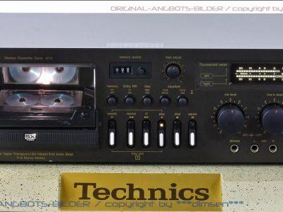 松下 Technics RS-673 卡座