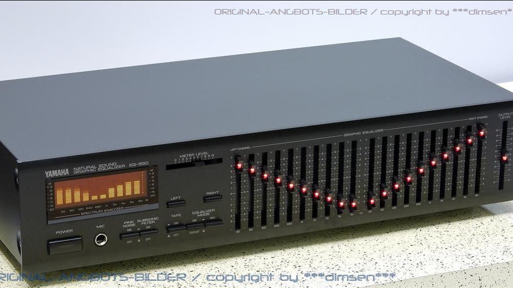 雅马哈 YAMAHA EQ-550 频谱图形均衡器