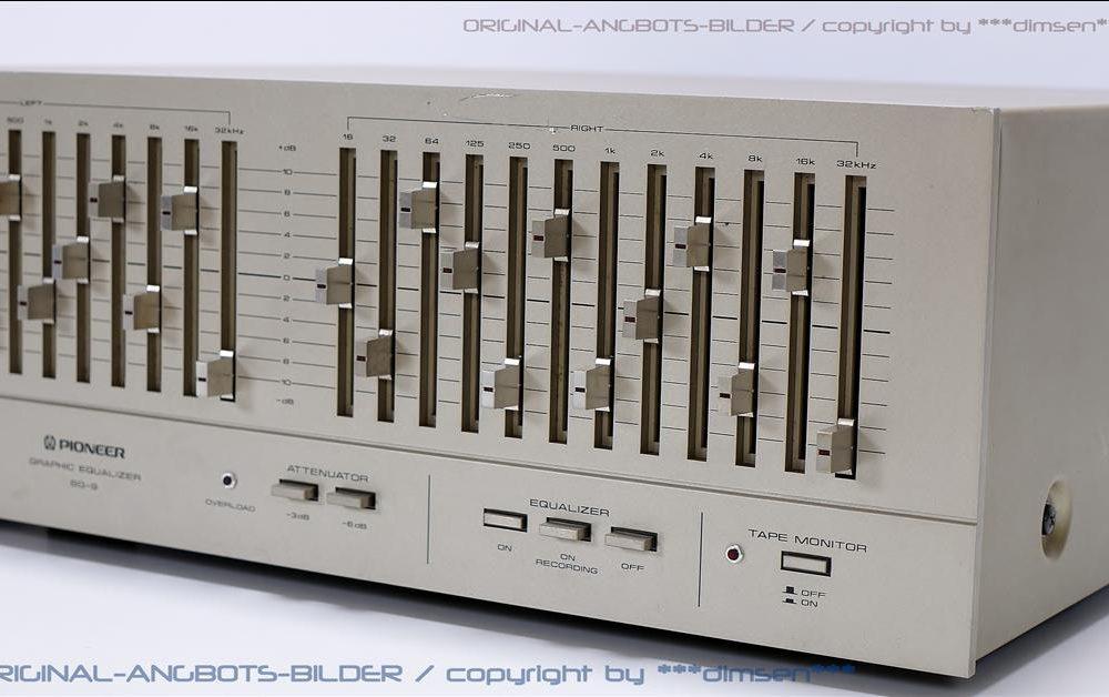先锋 PIONEER SG-9 图形均衡器
