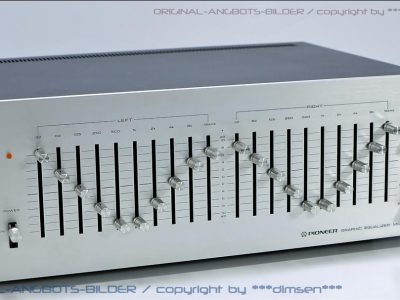 先锋 PIONEER SG-9500 图示均衡器