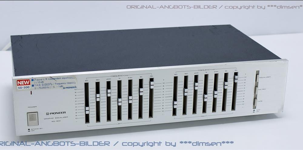 先锋 PIONEER SG-300 图形均衡器