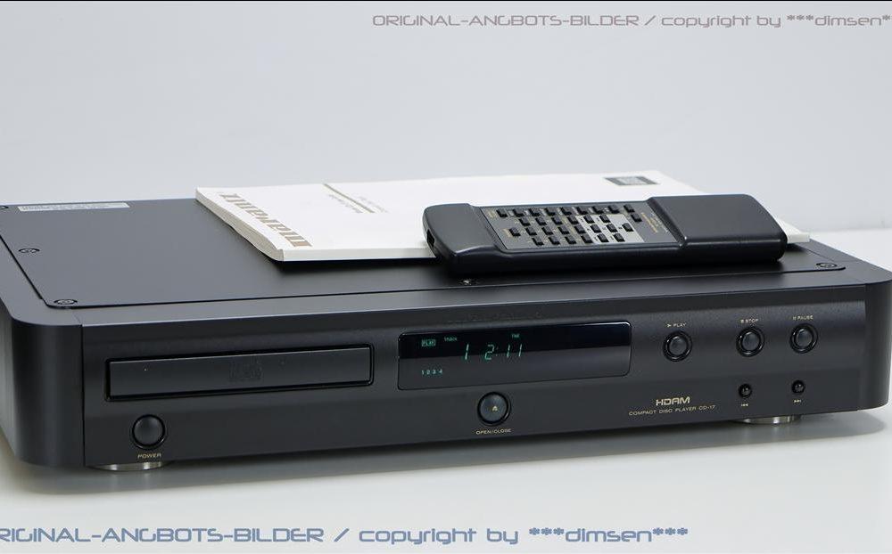 马兰士 MARANTZ CD-17 CD播放机