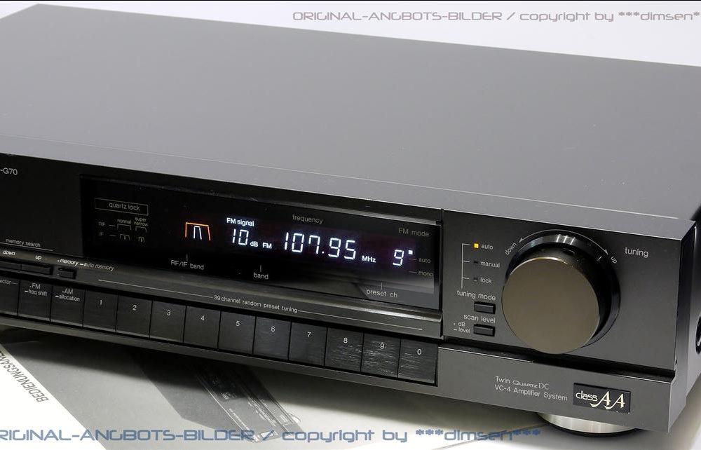 松下 Technics ST-G70 AM/FM 立体声收音头