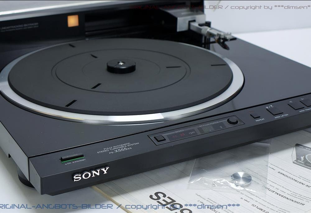 索尼 SONY PS-X555ES 黑胶唱机