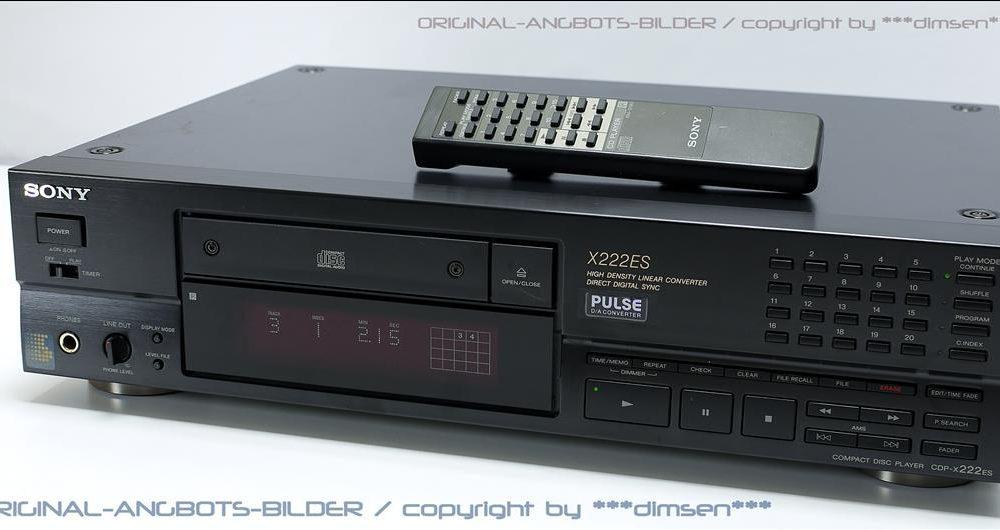 索尼 SONY CDP-X222ES CD唱机