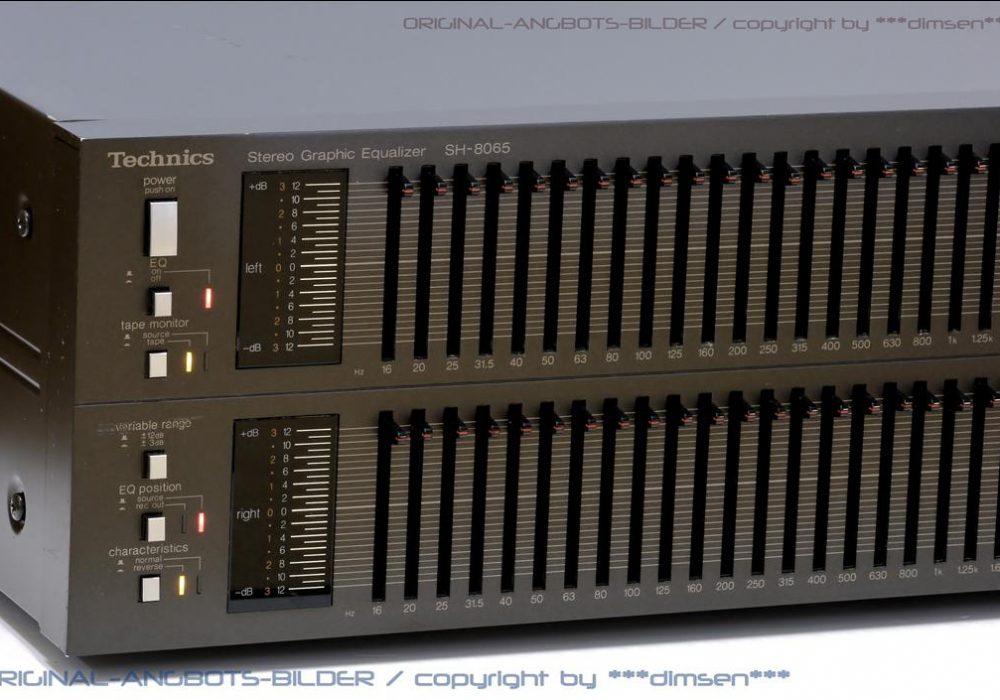 松下 Technics SH-8065 图形均衡器