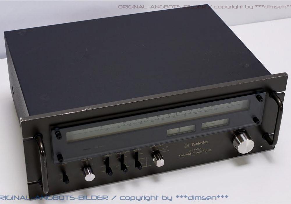 松下 Technics ST-9600 FM/AM 立体声收扩机