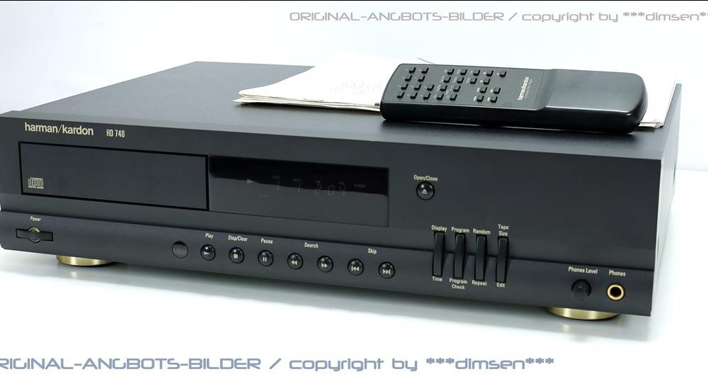 哈曼卡顿 Harman Kardon HD740 CD唱机