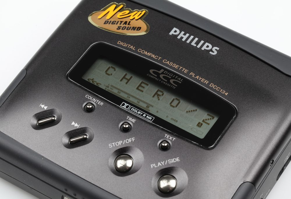 Philips DCC-134 Digital Compact Cassette Player - LCD Display (1994)