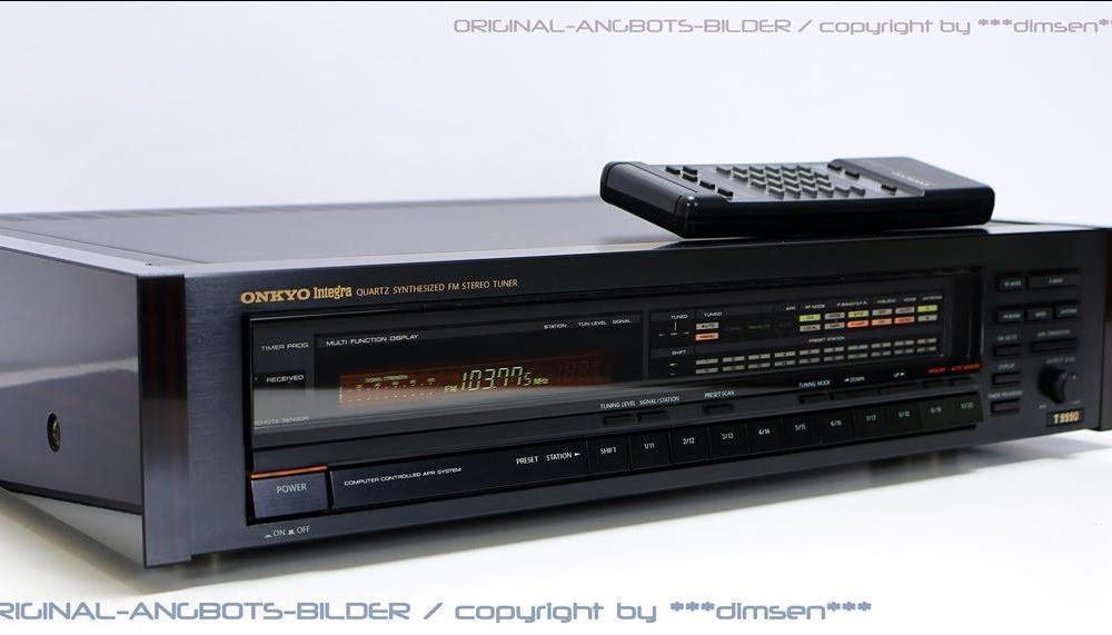安桥 ONKYO Integra T-9990 FM立体声收音头