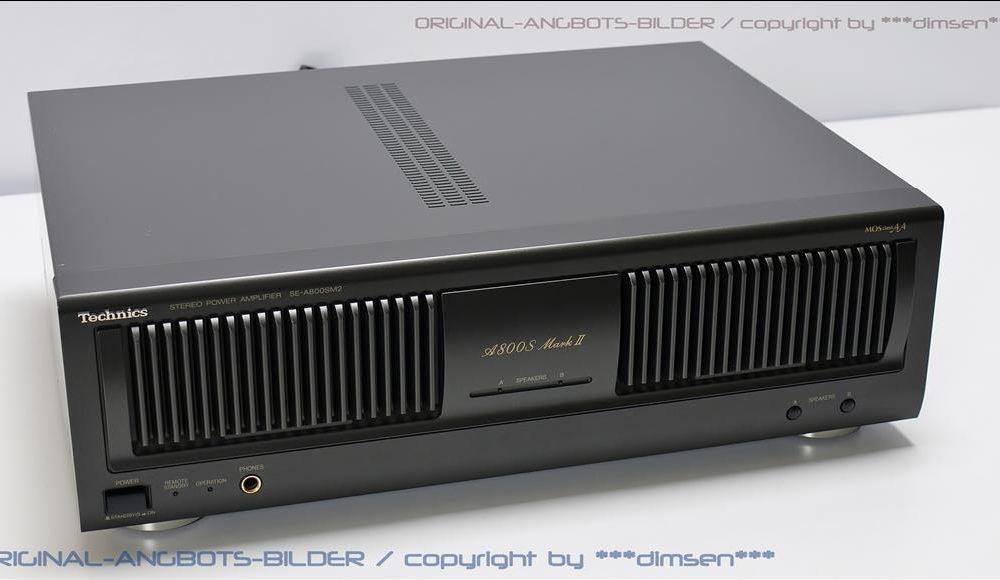 松下 Technics SE-A800SM2 后级放大器