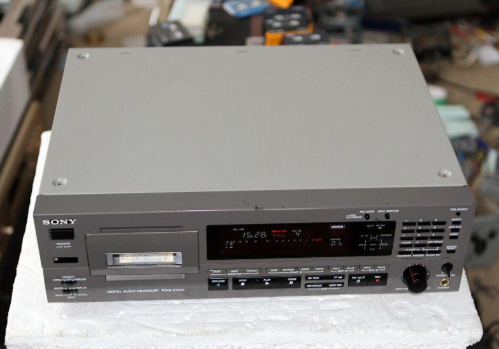 索尼 SONY PCM-2700A 专业DAT台机