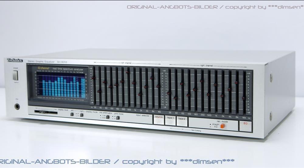 松下 Technics SH-8055 图形均衡器