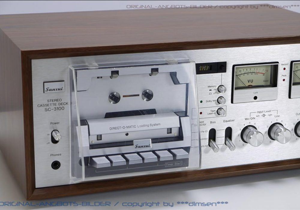 山水 SANSUI SC-3100 立体声古典卡座
