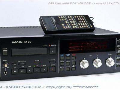 TASCAM DA-30 专业卡座