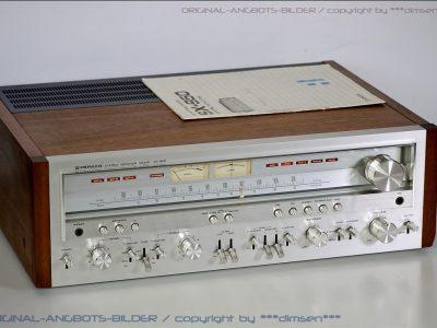 先锋 PIONEER SX-950 FM/AM 双表头收扩机