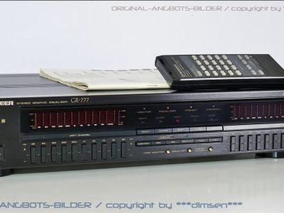 先锋 PIONEER GR-777 双频谱图形均衡器