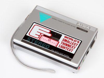 爱华 AIWA HS-P05 磁带随身听 (1983)