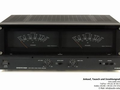 Onkyo Integra M-5060R, Power Amplifier