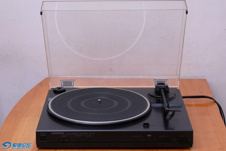 日产建伍 KENWOOD KD-47F 黑胶唱机