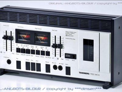 天宝 TANDBERG TCD-340A 双表头古典卡座