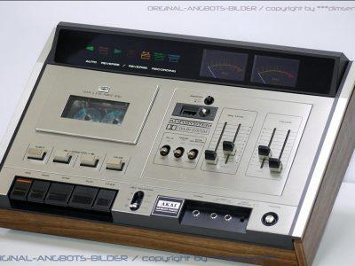 雅佳 AKAI GXC-75D 古典双表头卡座