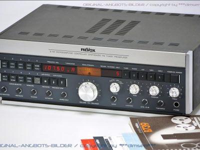 REVOX B739 FM收音头/前级放大器